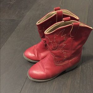 Other - Red girls cowboy boots